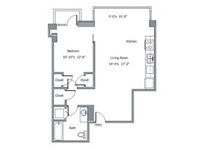 11CA floor plan.