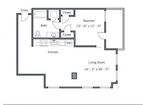 11CB Floor plan.