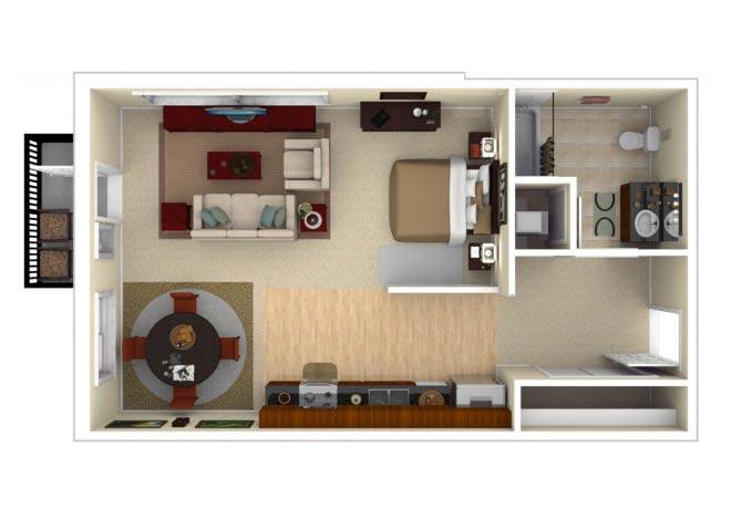 11CLG floor plan.
