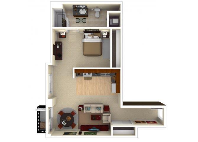 11CLI floor plan.