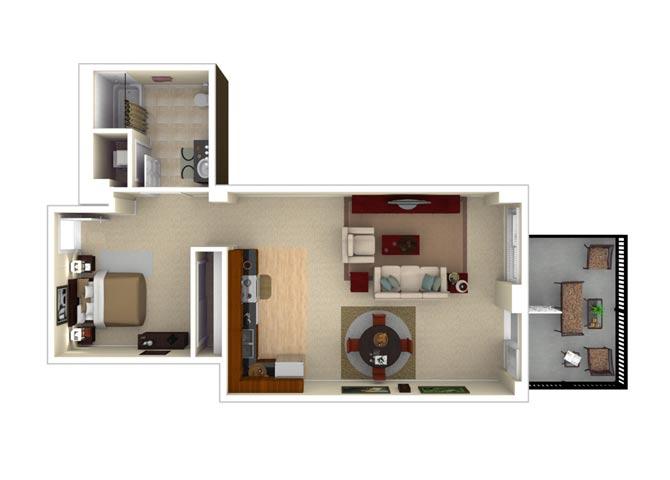 11CLM floor plan.