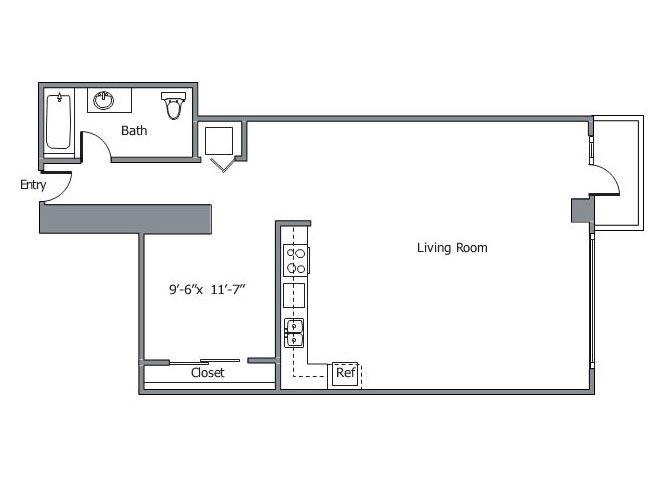 11CLN Floor plan.