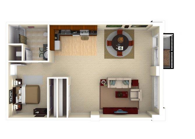 11CLU Floor plan.