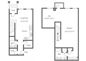 11CTH4 Floor plan.