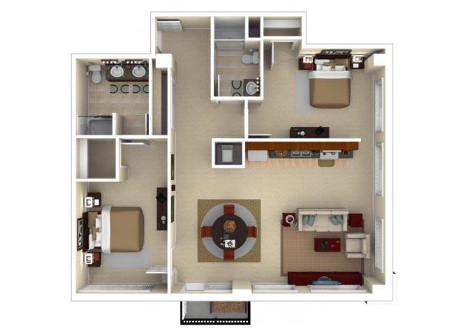 22CD Floor plan.