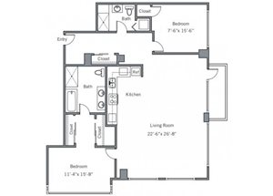 22CG Floor plan.