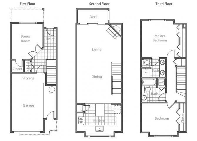 Floor Plans Of LionsGate South In Hillsboro, OR