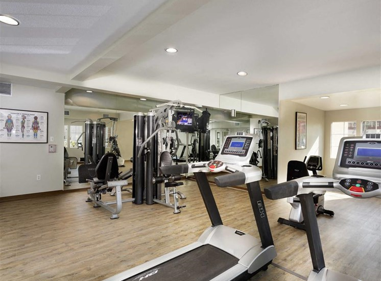 Cardio Equipment at The Verandas Apartments, West Covina, 91791