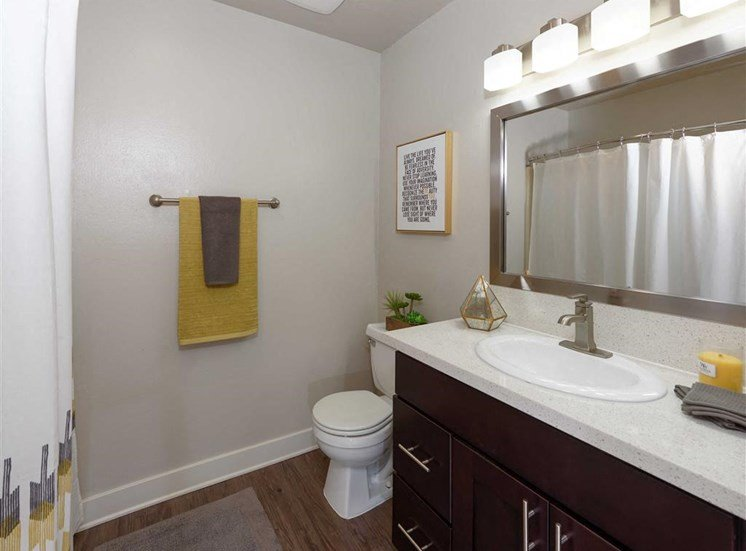 Custom Vanity Lighting at The Verandas Apartments, CA, 91791