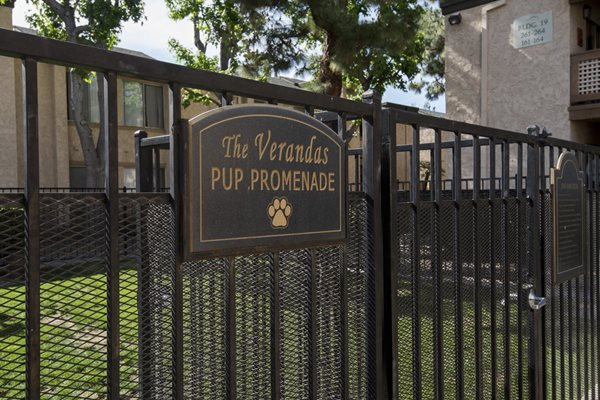 Pet Park, at The Verandas Apartment Homes, West Covina, 91791