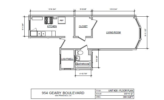 Studio F Floor Plan 6