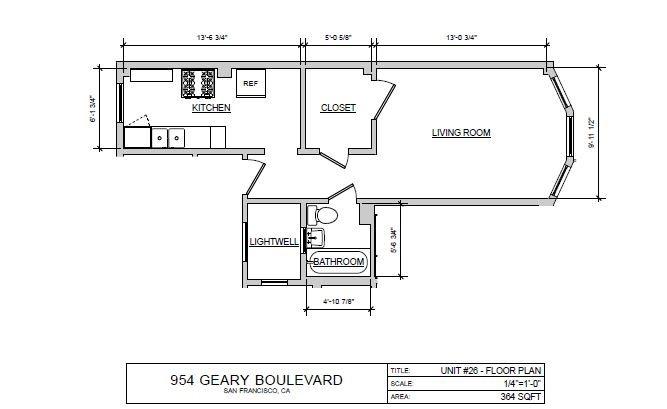 Studio F Floor Plan 6
