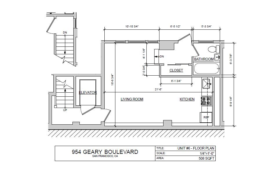 Studio I Floor Plan 9