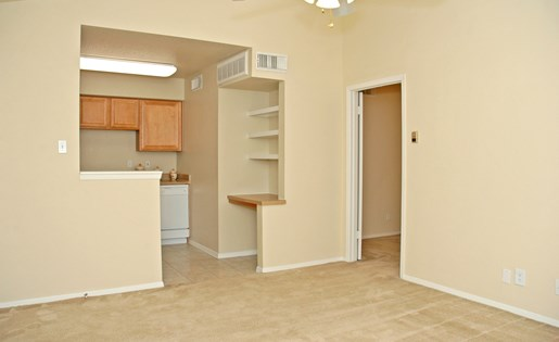 Open Layout at The Bradford Apartments, Webster Texas