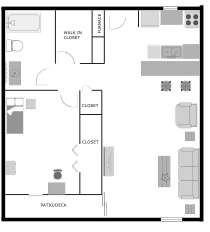 One Bedroom Style 1 Floor Plan 7