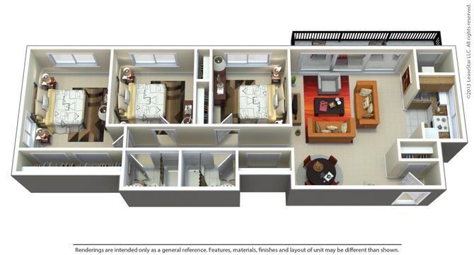 3Bedroom   2Bathroom