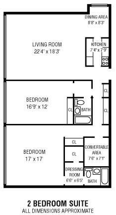 2Bedroom   2Bathroom