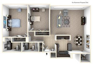 2Bedroom   1.5Bathroom