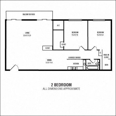 2Bedroom  1.5Bathroom