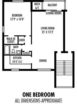 1Bedroom  1Bathroom