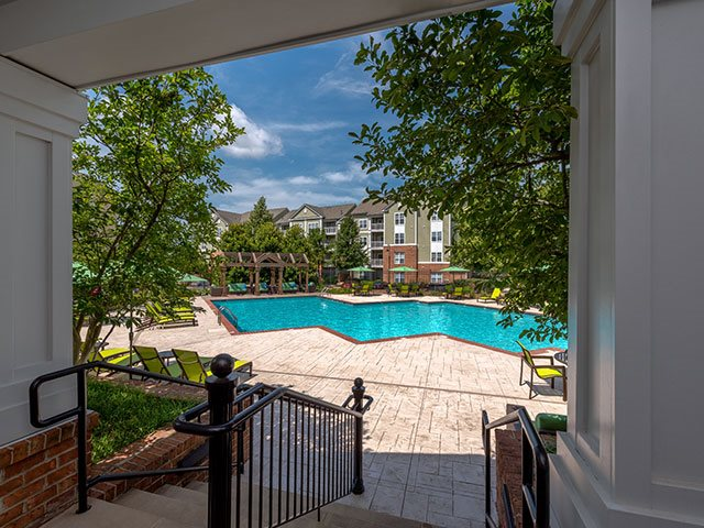 The Residences at Springfield Station - Pool area