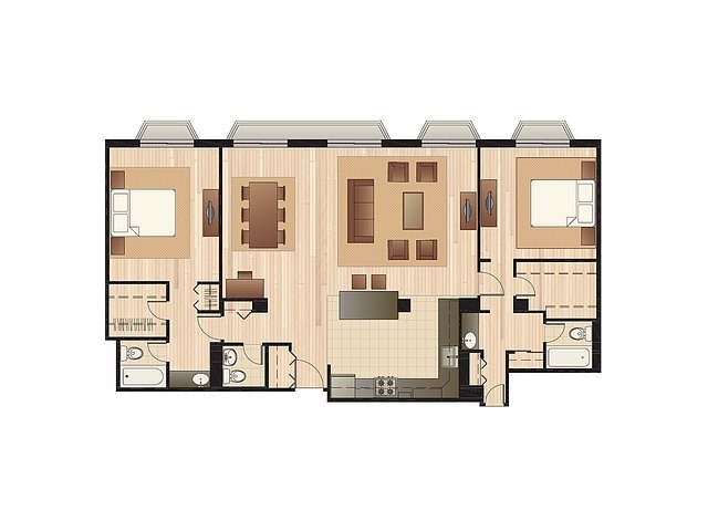 Penthouse Floor Plan 5