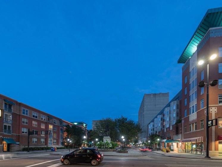 Night View at Gramercy on Garfield, Cincinnati, OH