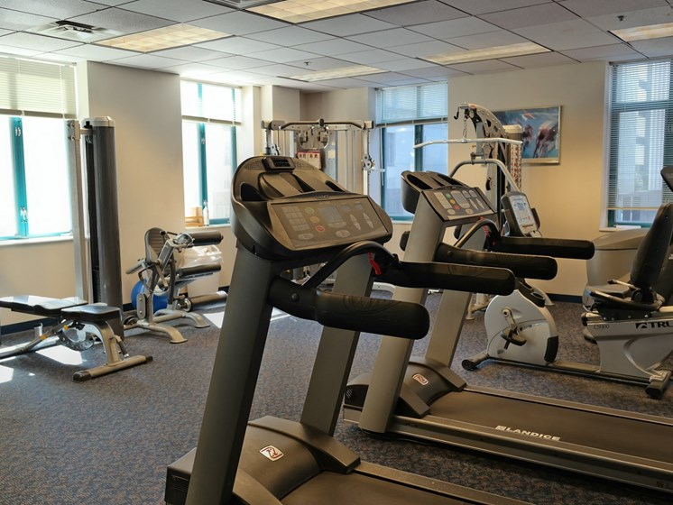 Fitness Center at Gramercy on Garfield, Cincinnati, Ohio