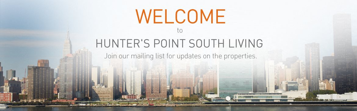 Hunter's Point South Living