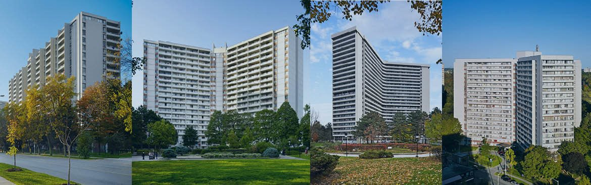 Apartments in Toronto - Rideau Towers at Thorncliffe Park Drive