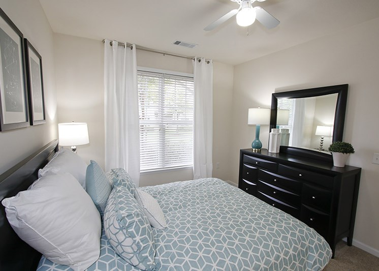 Spacious Bedrooms at Abberly Place at White Oak Crossing, Garner