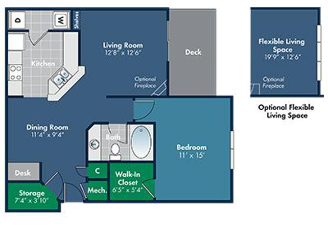 Floorplan for Avila at Abberly Place at White Oak Crossing, Garner by HHHunt, NC
