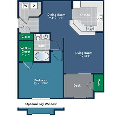Floorplan for Provence at Abberly Place at White Oak Crossing by HHHunt, Garner, NC 27610