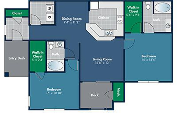 Floorplan for Savoy at Abberly Place at White Oak Crossing by HHHunt, Garner North Carolina