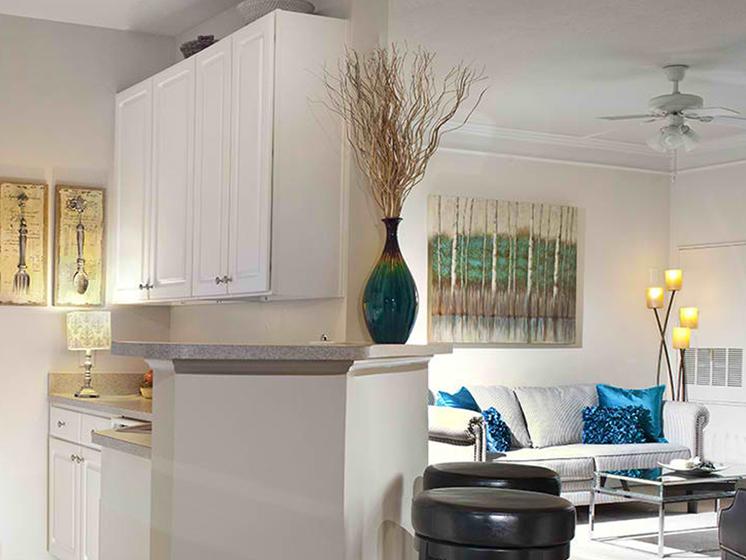 Classic Living Room Design at Abberly Crest Apartment Homes, Lexington Park, 20653