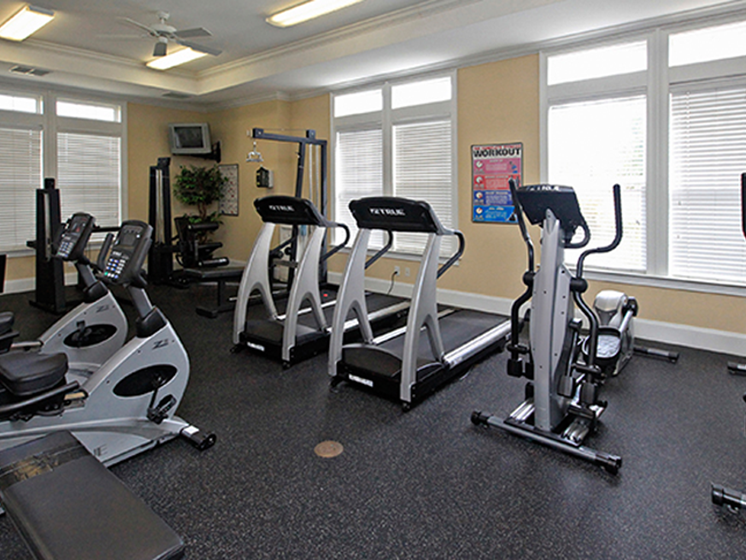 Cardio Equipment at Abberly Crest Apartment Homes, Lexington Park, MD, 20653