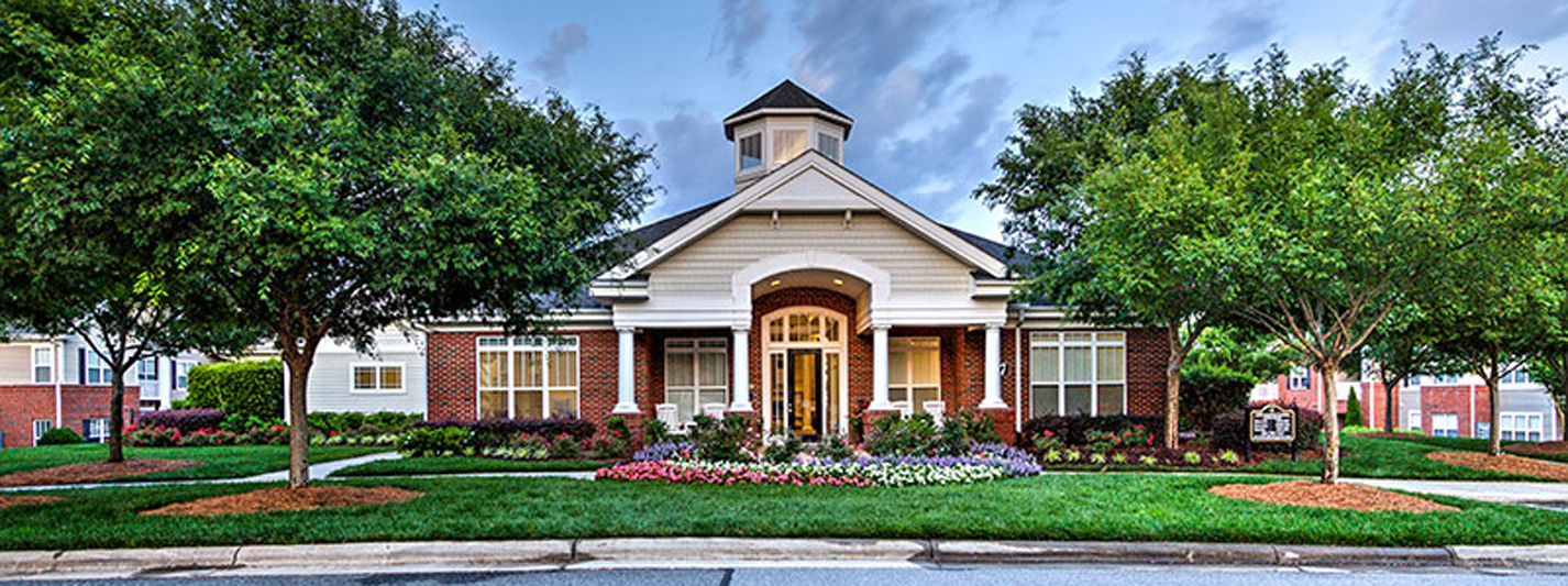 Access Controlled Community at Abberly Green Apartment Homes, Mooresville, NC