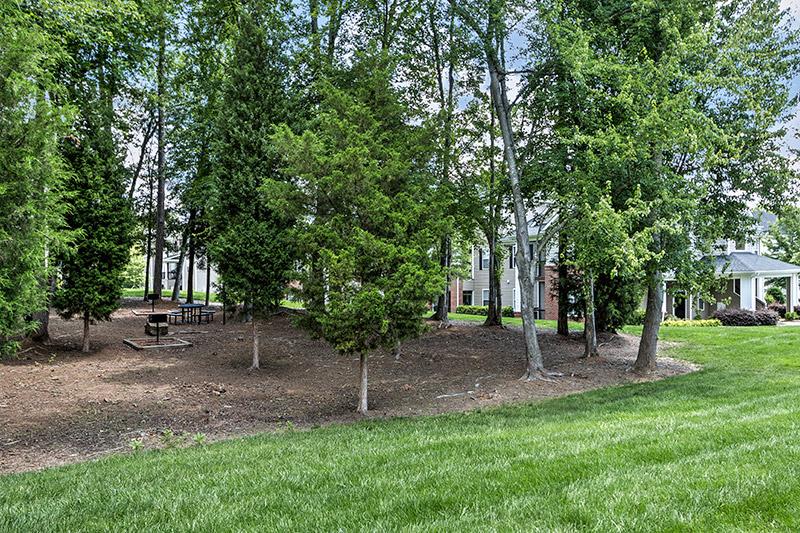 Courtyard Garden at Abberly Green Apartment Homes, North Carolina, 28117