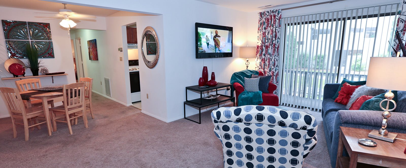 Garden Style Apartment Homes at Foxridge Apartment Homes, Blacksburg, VA