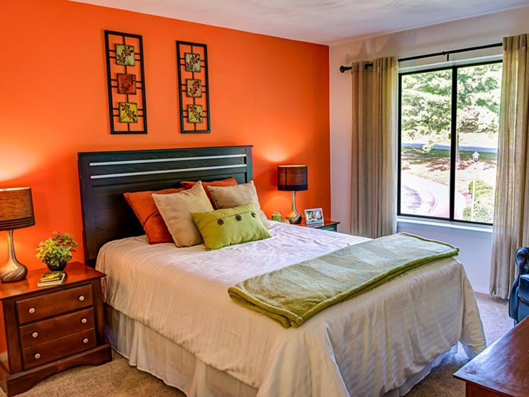 Well Decorated Bedroom at Walden Pond Apartment Homes by HHHunt, Lynchburg, 24501