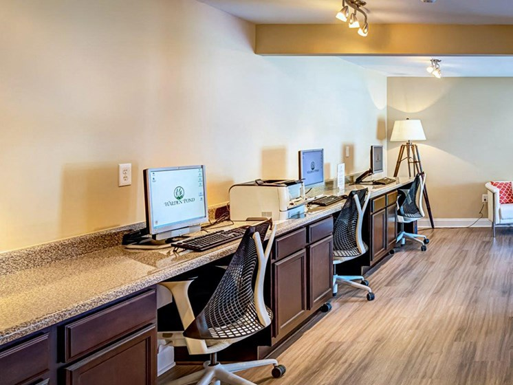 Cybercafe with Free WiFi at Walden Pond Apartment Homes, Lynchburg, VA, 24501