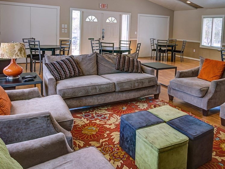 Multipurpose Community Activity Hall at Walden Pond Apartment Homes, Lynchburg, Virginia