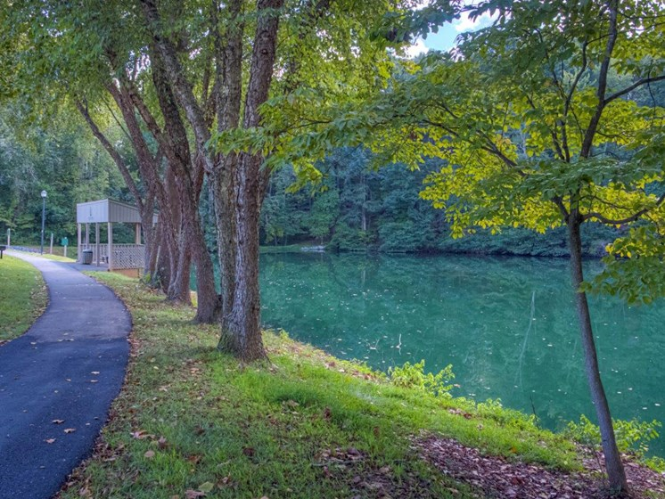 Bike Riding Trails at Walden Pond Apartment Homes, Lynchburg, Virginia