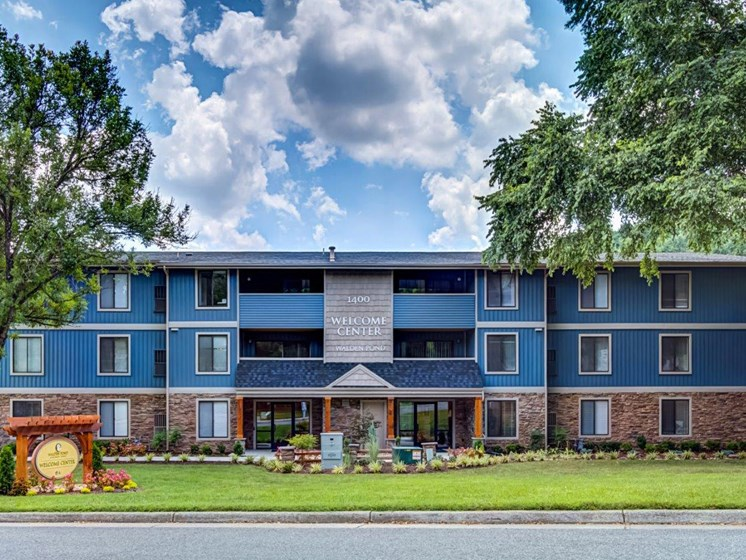 Access Controlled Community at Walden Pond Apartment Homes by HHHunt, Lynchburg, VA