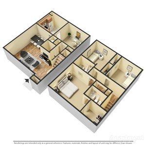 4 Bedroom | 2.5 Bath Townhome