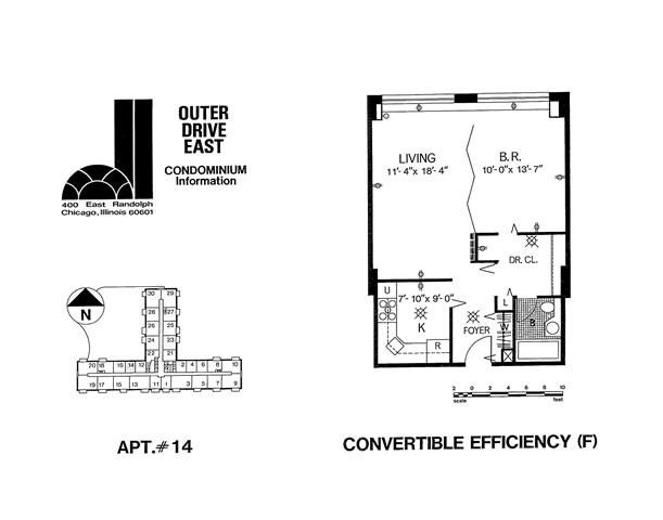 Tier 14 Floor Plan 14