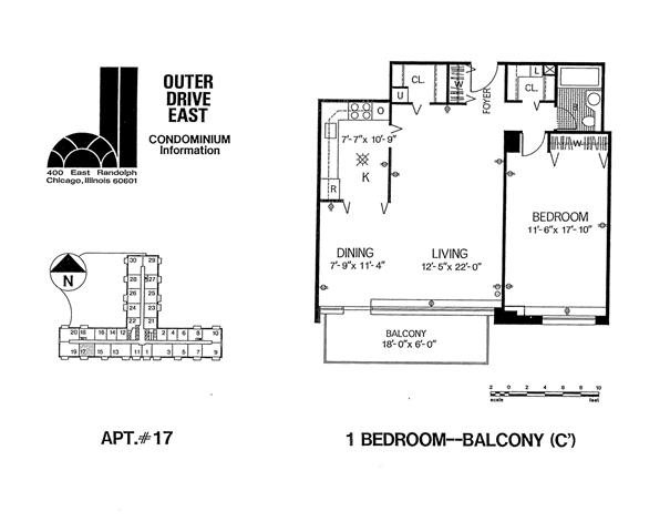 Tier 17 Floor Plan 17