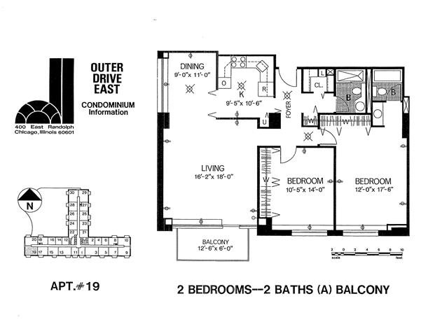 Tier 19 Floor Plan 19