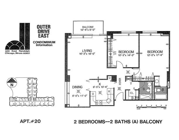 Tier 20 Floor Plan 20