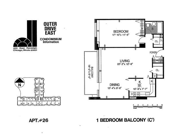 Tier 26 Floor Plan 26